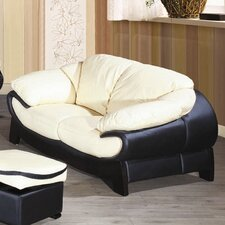 Bella Half Leather 2 Seater Sofa