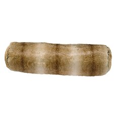 Chinchilla Faux Fur Neckroll Pillow