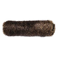 Lynx Faux Fur Neckroll Pillow