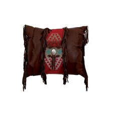 Accessory Pillows Deerskin Leather Pillow