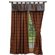 Woodsman II Tab Top Drape Panel (Set of 2)