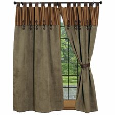 Autumn Leaf Tab Top Drape Panel (Set of 2)