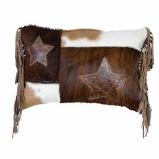 Accessory Pillows Cosmo Leather and Mesa Leather Fringe Pillow
