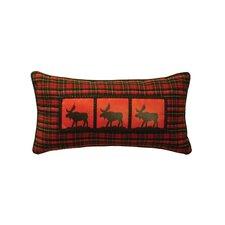 McWoods I Moose Heat Transfer Pillow