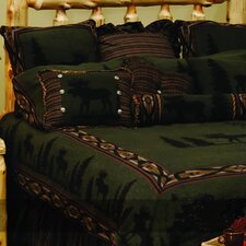 <strong>Wooded River</strong> Moose I 4 Piece Bedding Set