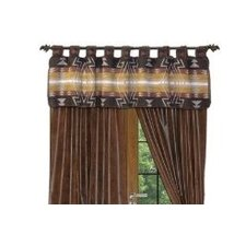 Winnipeg Tab Top Tailored Curtain Valance