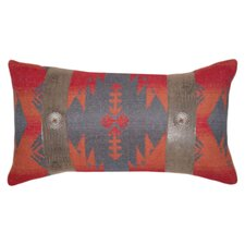 Socorro Southwest Faux Coral Stone Button Pillow