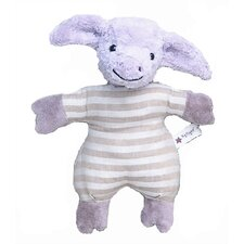 Kallisto Pig Baby Rattle Organic Stuffed Animal