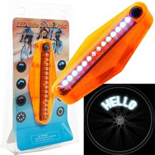 <strong>TG</strong> LED Bike Spoke Message Light (Set of 2)