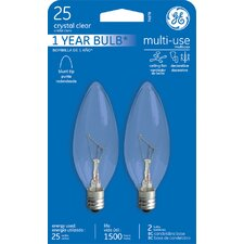 <strong>GE</strong> 25W Candelabra Incandescent Light Bulb