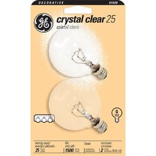 120-Volt (2500K)  Incandescent Light Bulb (Pack of 2)