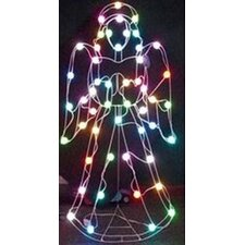 <strong>GE</strong> 50-Light LED Color Changing Angel with 8 Multi Functions