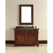 "Continental 48"" Single Vanity Set with Stone Top"