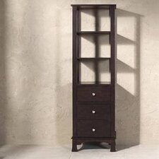 "<strong>James Martin Furniture</strong> Deandra 20.5"" x 70"" Bathroom Linen Cabinet"