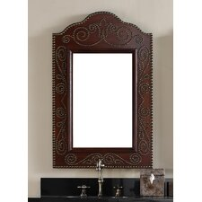 "<strong>James Martin Furniture</strong> Continental 36"" H x 23"" W Mirror"