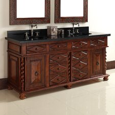 "Continental 72"" Double Vanity Base"