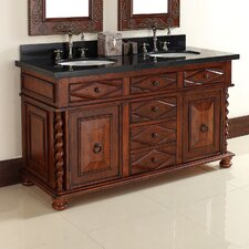 "Continental 60"" Double Vanity Base"