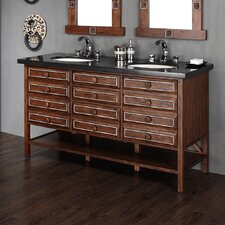 "Tacoma 60"" Double Vanity Base"