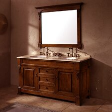 "Brookfield 60"" Double Vanity Set"