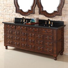 "<strong>James Martin Furniture</strong> Castilian 72"" Double Vanity Base"