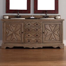 "Normandy 72"" Double Vanity Base"