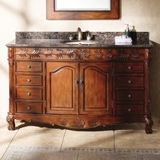 "Classico 60"" Single Granite Vanity Set"