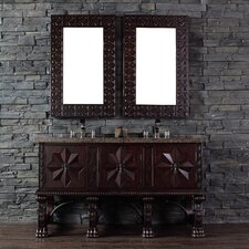 "Balmoral 60"" Double Vanity Set with Stone Top"