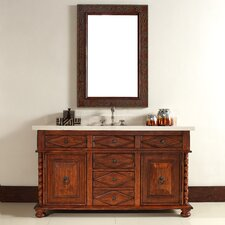 "<strong>James Martin Furniture</strong> Marrakesh 60"" Single Vanity Set with Stone Top"