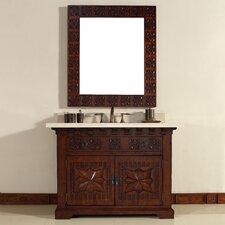 "Monterey 48"" Single Vanity Set with Stone Top"