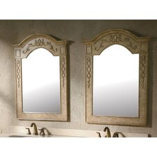 "Mountrose 40"" x 31"" Bathroom Mirror Set"