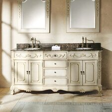 "Bella 72"" Double Bathroom Vanity Set"