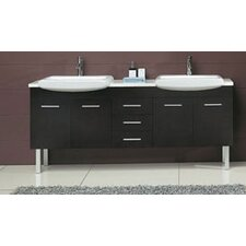 "Kasha 71"" Double Bathroom Vanity Set"