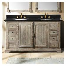 "<strong>James Martin Furniture</strong> Genna 59.25"" Double Bathroom Vanity Set"
