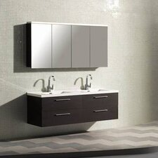 "Starfall 67.5"" Double Bathroom Vanity Set"