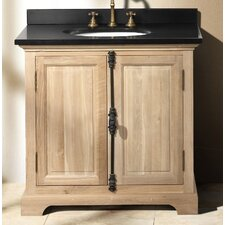 "Genna 35.5"" Single Bathroom Vanity Set"
