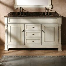 "Brookfield 60"" Double Bathroom Vanity Base"