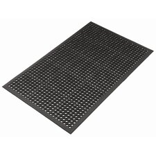 <strong>Mats Inc.</strong> Kushion Safe Light Molded Rubber 3' x 5' Mat in Black