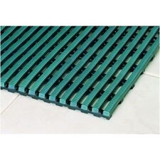 World's Best Barefoot Mat 3' x 5' Safety and Comfort Mat in Forest Green