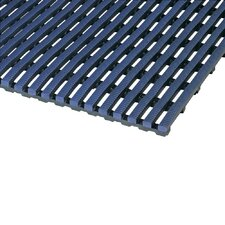 World's Best Barefoot Mat 2' x 6' Safety and Comfort Mat in Oxford Blue