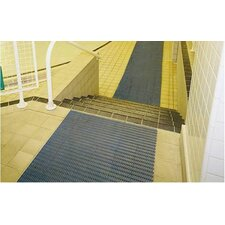 <strong>Mats Inc.</strong> World's Best Barefoot Mat 2' x 6' Safety and Comfort Mat in Gray