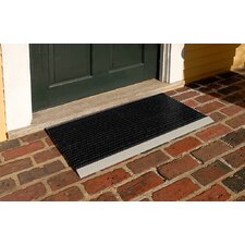 "<strong>Mats Inc.</strong> The Ultimate 18"" x 31"" Outdoor Bristle Mat in Black"
