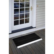 """The Ultimate 24"""" x 36"""" Outdoor Bristle Mat in Black"""