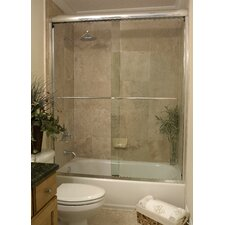Paragon Frameless Sliding Tub Door 3/8""