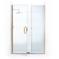 Illusion Frameless Shower Door and Inline Panel