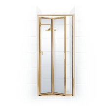Paragon Double Hinge Bifold Shower Door