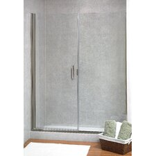 <strong>Coastal Industries</strong> Paragon Illusion Series C-Pull Frameless Shower Door and Inline Panel
