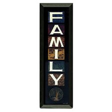 Family by Tonya Crawford Framed Graphic Art