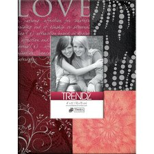 <strong>Timeless Frames</strong> Trendz Love Decoupage Tabletop Photo Frame