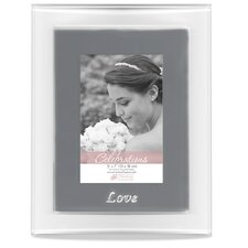 <strong>Timeless Frames</strong> Glass Love Picture Frame