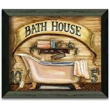 Bath House Art Print Wall Art